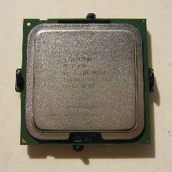 De standaard S775 processor met beschermkapje