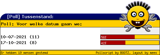 http://poll.dezeserver.nl/results.cgi?pid=403680&layout=2&sort=org