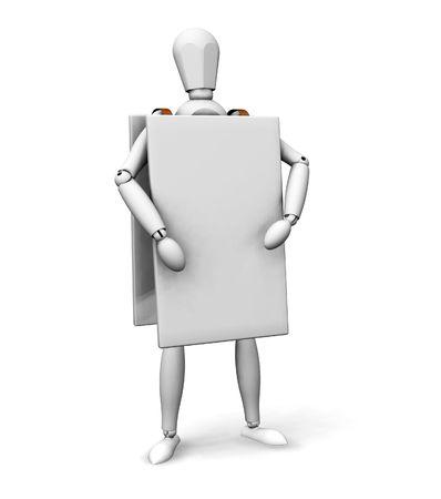 http://us.123rf.com/450wm/kjpargeter/kjpargeter0701/kjpargeter070100132/751233-3d-render-van-een-houten-man-draagt-een-reclame-bord.jpg?ver=6