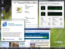 Windows Vista build 5219 - Taskbar with glass effect (kleiner)