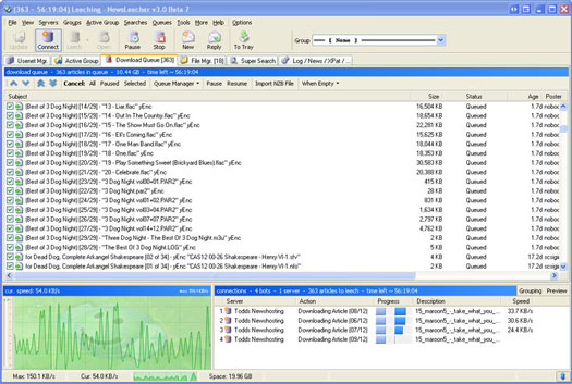 NewsLeecher+3+9 pakket: Newsleecher 3.9 beta 5 + keygen, FTD 3.8.5 ...