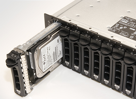 Dell PowerVault MD1000 SAS disk array - Swapbays