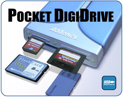 Addonics Pocket digiDrive