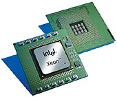 Intel Xeon (Foster) processor (klein)