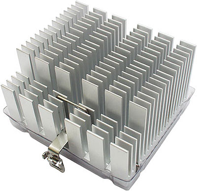 VIA C3 heatsink - passieve koeling