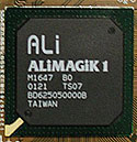 ALi MAGiK 1 Rev. B0 chipset (klein)