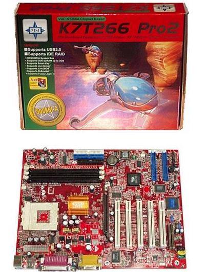 MSI K7T266 Pro2-RU2