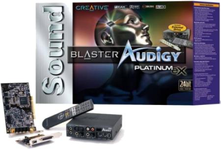Soundblaster Audigy Platinum eX