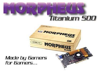 3DPower logo & standaard GeForce3 Ti 500 kaart