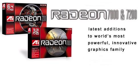 Radeon 7000 + 7200