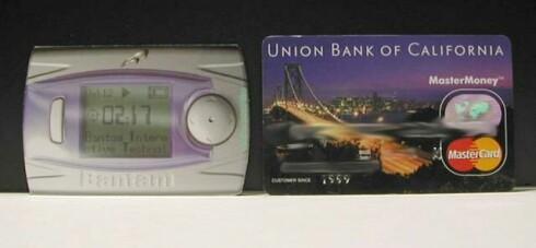 Bantam 350 vs. creditcard