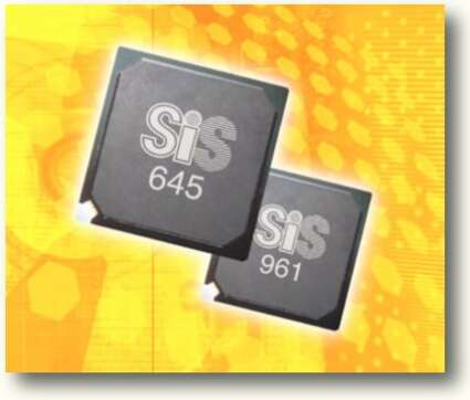 SiS 645 chipset