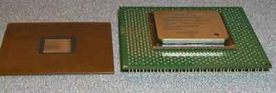Intel BBUL en FCPGA behuizing