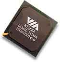 VIA KT266A chipset - vrij, klein