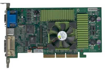 GeForce Ti500 reference board