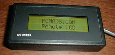 PCMods.com Remote Serial Display Kit