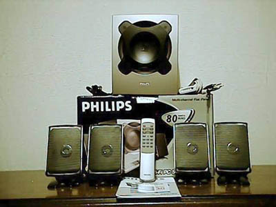 Philips MMS305 Multi-channel Flat Panel