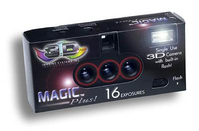 Magic Plus! 3D wegwerpcamera