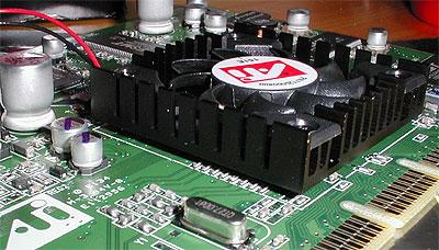 ATi Radeon 7500 GPU koeler