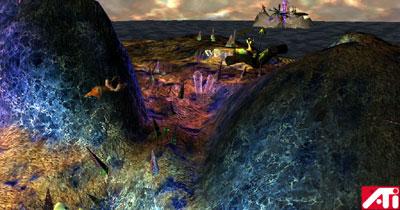 ATi Radeon 8500 Islands demo