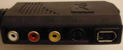 ATi Radeon 8500DV AIW breakout box inputs