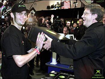 Bill Gates verkoopt 1e Xbox