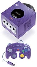 Nintendo GameCube (paars, klein)
