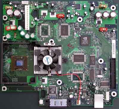 Xbox-moederbord