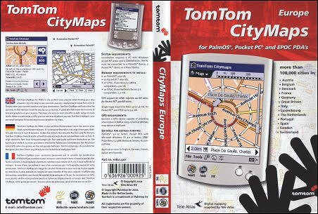 Illustratie GPS/PocketPC review