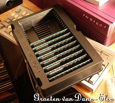 Dane-Elec 8x 1GB ECC Registered voor database servers