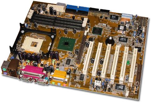 Asus P4B266 i845D moederbord