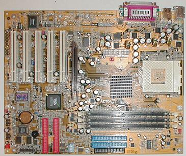 DFI AD70-SR KT266A moederbord