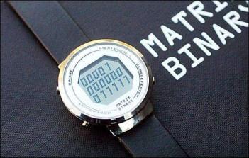 Binair horloge