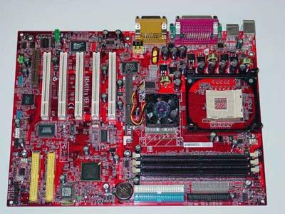 MSI 845 Ultra (Intel 845D chipset)