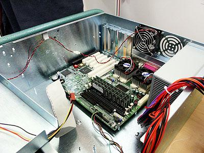 Artemis upgrade: exit SuperMicro 370DLE
