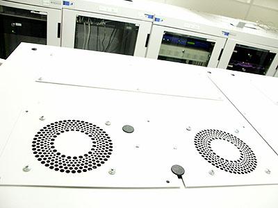 Artemis upgrade: Varicon fan in rack