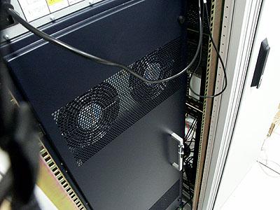 Artemis upgrade: Charlotte's Web Aranea-1 fans