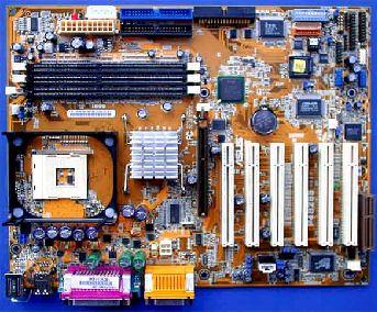Asus P4B266 met Intel 845D chipset