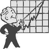 economie stijging grafiek