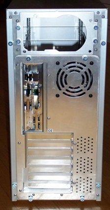 Lian-Li PC-82 USB midi-tower (back)