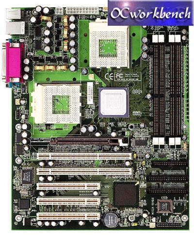 EPoX AMD760MPX Dual Athlon CPU board - M762A