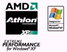 AMD Windows XP vignetjes