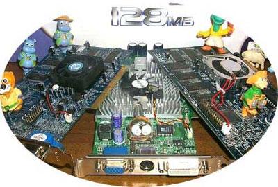 128MB videokaarten