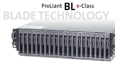 Compaq ProLiant BL10e blade rackmount