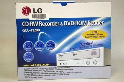 LG GCC-4120B CD-RW/DVD combodrive doos