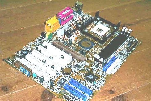 VIA VPSD P4XB-RA P4X266A moederbord