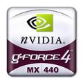 GeForce 4 MX 440 logo (klein)