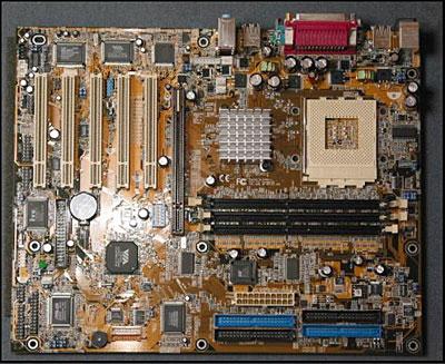 Asus A7V333 KT333 moederbord