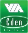 VIA Eden Platform logo