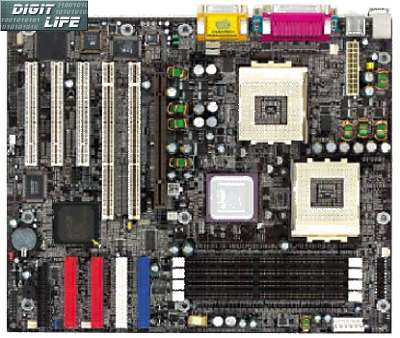 Chaintech 7KDD dual socket A 760 moederbord